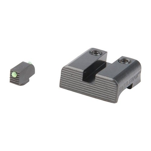 Battlehook Sight Set Fiber Optic Front for Glock™