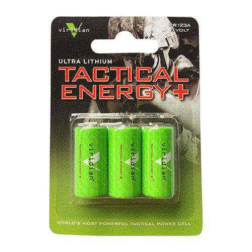 Lithium CR123A Batteries 3-Pack