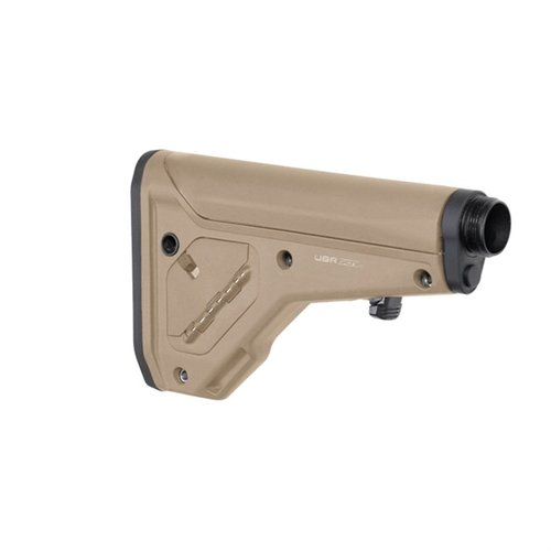 AR-15 UBR 2.0 Collapsible Stock Collapsible A5 Length FDE