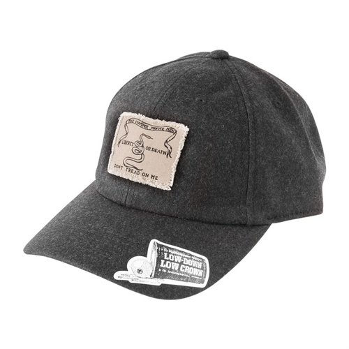 Culpepper Flag Adjustable Cap Charcoal
