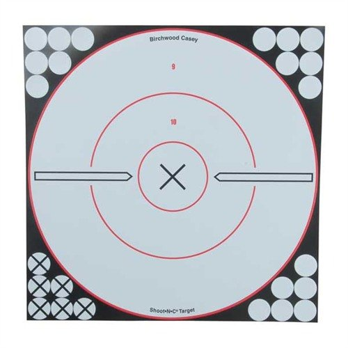 "Shoot-N-C 12"" Bulls-Eye Target (5 Pack)"
