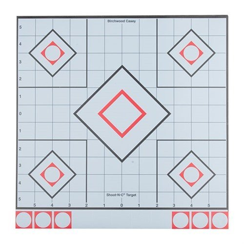 "White & Black Shoot-N-C 12"" Targets"