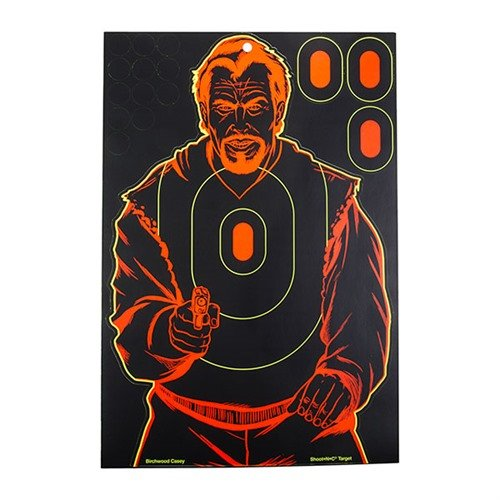 "Shoot-N-C Bad Guy, 12"" X 18"", 5 Pack"
