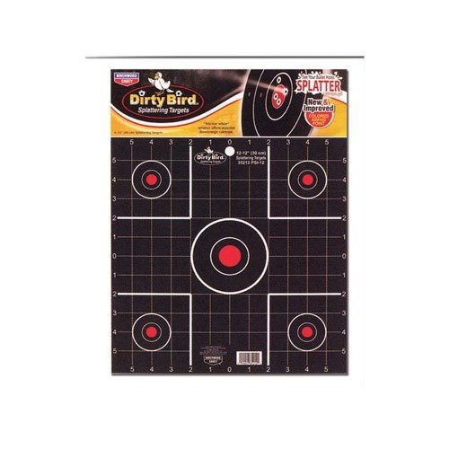 "Dirty Bird 2"" Sight-In Target 12 pk"